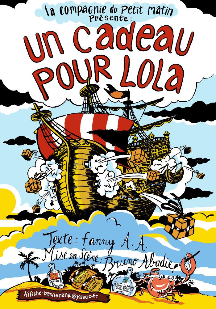 affiche Un cadeau pour Lola