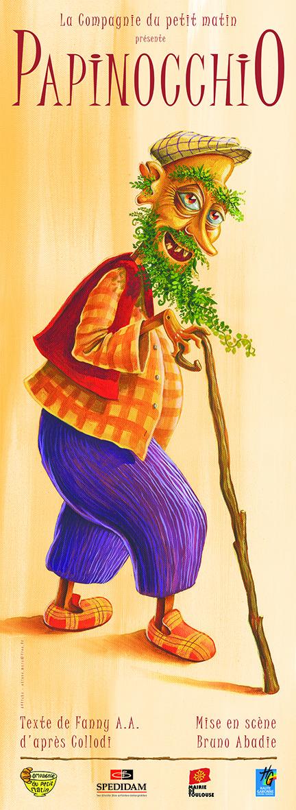 Affiche Papinok Spédidam moyen
