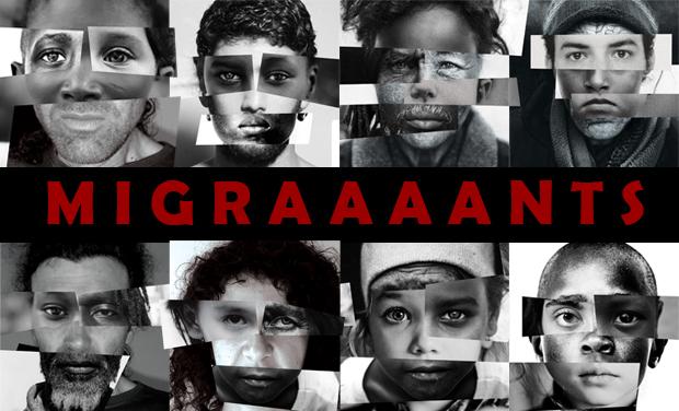 Affiche Migraaaants